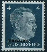 PIA - RUSSIA - 1941-43 - Francobollo Di Germania Sovrastampato UKRAINE - (Yv 41) - 1941-43 Occupation: Germany