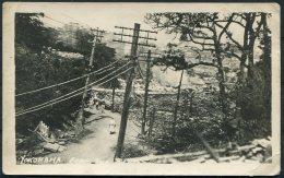 1923 Japan Yokohama Earthquake RP Postcard. - Yokohama