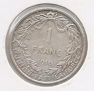 ALBERT I * 1 Frank 1910 Frans * Z.Fraai * Nr 6578 - 07. 1 Franc