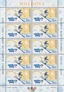"Moldova 2014 "" Winter Olympic Games Sochi-2014."" 2 Sheets Quality:100% - Winter 2014: Sochi"