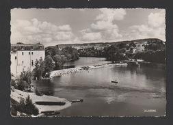 DF / 47 LOT ET GARONNE / VILLENEUVE SUR LOT / LE BARRAGE / CIRCULÉE EN 1954 - Villeneuve Sur Lot