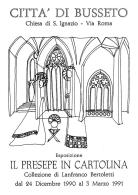 [MD1024] CPM - IN RILIEVO - BUSSETO (PARMA) - IL PRESEPE IN CARTOLINA - LANFRANCO BERTOLETTI - NV 1991 - Parma