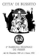 [MD1026] CPM - IN RILIEVO - BUSSETO (PARMA) - 2° RASSEGNA REGIONALE DEI PRESEPI - BERTOLETTI - NV 1990 - Parma