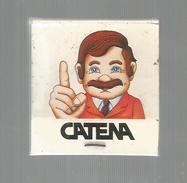 G-I-E , Tabac , Boite , Pochette D'ALLUMETTES, 2 Scans, Publicité, CATENA - Boites D'allumettes - Etiquettes