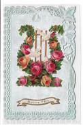 Fantasie - Carte Gaufrée.....Dentelée.....Découpis. - Fancy Cards