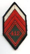 453 (03) - LOSANGE 45 Train - 412 ème - Patches