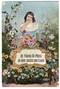 68 - De FOURON SAINT PIERRE, Je Vous Envoie Ces Fleurs - Voeren