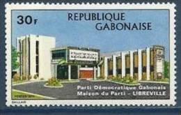 "Gabon YT 318 "" Maison Du Parti "" 1973 Neuf** - Gabon"