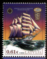LATVIA Lettland ,Lettonia 2016 OLD SAILING SHIPS HISTORY 19ct - MNH - Latvia