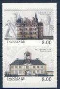 #Denmark 2013. Manour Houses. Pair From Booklet. Michel 1735-36C. MNH(**) - Danemark
