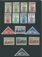Spain Stamps Hm Mh Columbus Issue Sg593 Sg 593 /607 - Unused Stamps