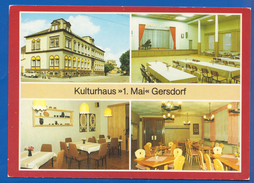 Deutschland; Gersdorf; Kulturhaus 1 Mai - Gersdorf