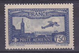France PA   6 Avion Survolant Marseille 1930 Neuf Avec Trace De Charnière* TB MH Con Charnela Cote 26 - 1927-1959 Mint/hinged
