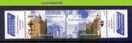 FG274 ARCHITECTUUR GEBOUWEN KASTEEL KASTELEN CASTLES EUROPA CEPT ARCHITECTURE BUILDINGS NEDERLAND 2017 PF/MNH - Kastelen
