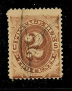 USA 1879 2 Cent Postage Due Issue #J2  Used - Postage Due