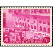 ES708STV-LTV***708STPOTS.Spain.Esgane .Periodistas.Asociacion De LA PRENSA.1936(Ed 708**) - Profesiones