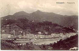 GENOVA BOLZANETO PANORAMA 1918 - Genova (Genua)