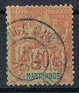 MARTINIQUE N°40  Oblitération Fort De France Chargements - Gebraucht