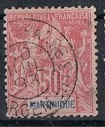 MARTINIQUE N°41  Oblitération Fort De France Chargements - Gebraucht