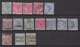 Gibraltar: QV Stamps - Gibraltar