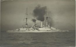 AK S.M.S Wittelsbach K. D. Marine Schiffspost [147] 1916 #132 - Guerre