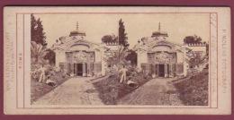 ITALIE - 150417 - PHOTO STEREO - ROME - Villa Torlonia - Stereoscopic
