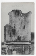 DROIZY EN 1917 - LA TOUR -  CPA VOYAGEE - France