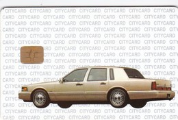 Czech Rep., Car, Ford, Lincoln, City Card, 150 Kc, 12.96, 5000ex , 2 Scans.