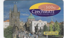 Czech Rep.,IC1A, Czechmate, Exp. : 06/2001, Only 10.000 Issued, 2 Scans.