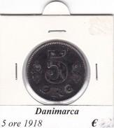 DANIMARCA   5 ORE  1918  COME DA FOTO - Danimarca