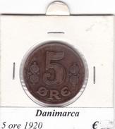 DANIMARCA   5 ORE  1920  COME DA FOTO - Danimarca