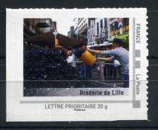 """Braderie De LILLE Adhésif Neuf ** . Collector """" Nord Pas De Calais """"  2009 - France"""