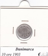 DANIMARCA   10 ORE  1903  COME DA FOTO - Danimarca