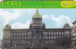 Czech Rep.,I-Call, Castle, Exp. : 31.12.2001, 2 Scans.