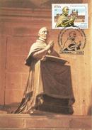 ESPAÑA 2001. TARJETA MAXIMA DEL CARDENAL RODRIGO DE CASTRO  (RELIGIOSO) - Maximum Cards