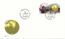 Denmark FDC 28-5-1998 Nordic Complete Set Of 2 With Cachet - FDC