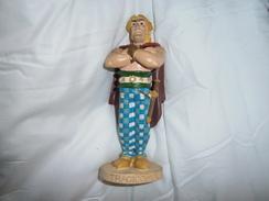 FIGURINE   TRAGICOMIX  ATLAS      PLASTOY - Asterix & Obelix