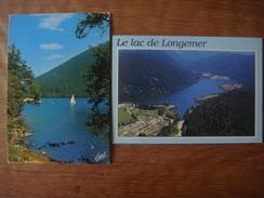 FRANCE - Vosges - Lot De 2 Cartes Du Lac De LONGEMER ( Xonrupt ) - Xonrupt Longemer
