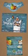 Etiquette Cidre Bouché Heula - Labels
