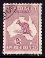 Australia 1929 Kangaroo 2S Maroon Small Multi Wmk CTO No Gum - Used Stamps