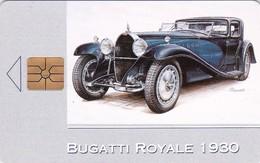 Czech Rep. C036, Bugatti Royale 1930, Car, 2 Scans.