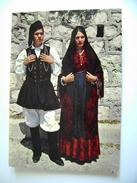 COSTUMI  SARDI  FLUMINIMAGGIORE   SARDEGNA  CAGLIARI  COSTUME VIAGGIATA COME DA FOTO ITALY ITALIE - Costumi