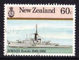 New Zealand 1985 Naval History 60c Rotoiti Used - New Zealand