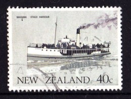 New Zealand 1984 Ferry Boats 40c Waikana Used - New Zealand