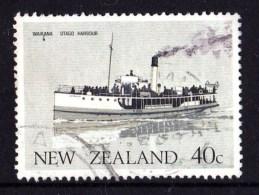 New Zealand 1984 Ferry Boats 40c Waikana Used - Used Stamps