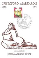 [MD1029] CPM - IN RILIEVO - SALSOMAGGIORE TERME (PARMA) - CRISTOFORO MARZAROLI - LA NOSTALGIA - BERTOLETTI - NV - Parma
