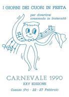 [MD1032] CPM - IN RILIEVO - COENZO (PARMA) - CARNEVALE - I GIORNI DEI CUORI IN FESTA - BERTOLETTI - NV 1990 - Parma