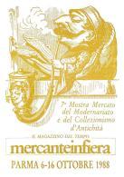 [MD1034] CPM - IN RILIEVO - PARMA - MERCANTEINFIERA - CARTOLINA RICORDO - BERTOLETTI - NV 1988 - Parma