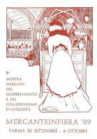 [MD1036] CPM - IN RILIEVO - PARMA - MERCANTEINFIERA - CARTOLINA RICORDO - BERTOLETTI - NV 1989 - Parma