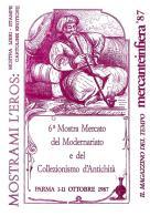 [MD1037] CPM - IN RILIEVO - PARMA - MERCANTEINFIERA - MOSTRAMI L'EROS - CARTOLINA RICORDO - BERTOLETTI - NV 1987 - Parma